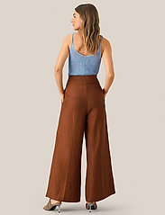 Second Female - Lia Trousers - vide bukser - carob brown - 3
