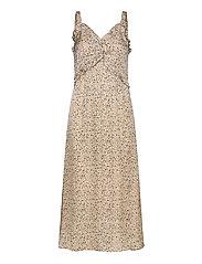 Neomitre Strap Dress - MACADAMIA
