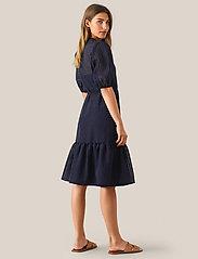 Second Female - Vilda Dress - korta klänningar - navy - 5