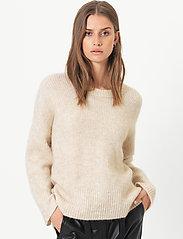 Second Female - Koorb Knit O-Neck - trøjer - marzipan - 0