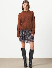 Second Female - Geo Skirt - korta kjolar - caviar - 0