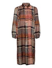 Nice Midi Dress - CAVIAR