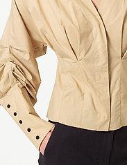 Second Female - Addison Shirt - långärmade blusar - ginger root - 3