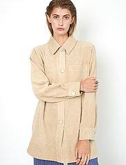 Second Female - Boyas Jacket - overshirts - humus - 7