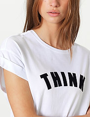 Second Female - Think Tee - t-shirts - white - 3
