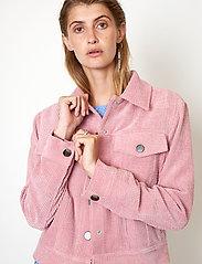 Second Female - Boyas Jeans Jacket - jeansjackor - lilas - 4