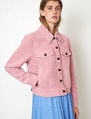 Second Female - Boyas Jeans Jacket - jeansjackor - lilas - 5