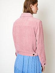 Second Female - Boyas Jeans Jacket - jeansjackor - lilas - 6