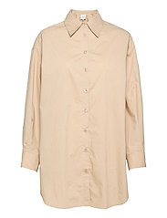 Larkin Oversized Shirt - HUMUS