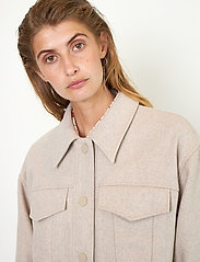 Second Female - Harmony Jacket - wool jackets - humus - 0