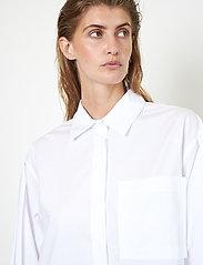 Second Female - Larkin New Shirt - långärmade skjortor - white - 3