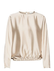 Barbi Blouse - WHITE SWAN