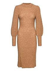 Mika Knit Dress - CAMEL