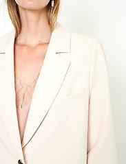Second Female - Evie New Blazer - oversize kavajer - brazilian sand - 3