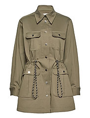 Isabella Jacket - OLIVE NIGHT
