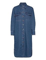 Ingrid Dress - BLUE DENIM