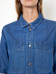 Second Female - Ingrid Jumpsuit - kläder - blue denim - 4