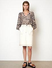 Second Female - Terry Skirt - jeanskjolar - white swan - 0