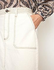Second Female - Terry Skirt - jeanskjolar - white swan - 3