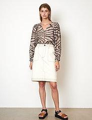 Second Female - Terry Skirt - jeanskjolar - white swan - 4