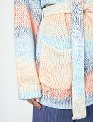 Second Female - Elsa Knit Cardigan - koftor - brunnera blue - 3