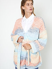 Second Female - Elsa Knit Cardigan - koftor - brunnera blue - 4