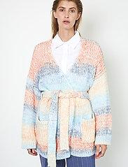 Second Female - Elsa Knit Cardigan - koftor - brunnera blue - 5