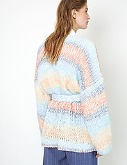 Second Female - Elsa Knit Cardigan - koftor - brunnera blue - 6