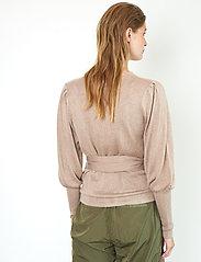 Second Female - Ebba Knit Cardigan - koftor - ginger root - 5