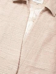 Second Female - Hilla Waistcoat - stickade västar - cement - 7