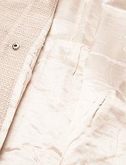 Second Female - Hilla Waistcoat - stickade västar - cement - 9