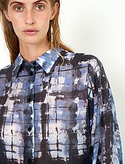 Second Female - Imprint Shirt - kläder - blue shadow - 4