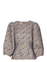 Harriet Blouse - BLUE BONNET