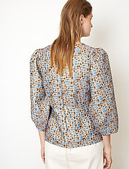 Second Female - Harriet Blouse - långärmade blusar - blue bonnet - 5
