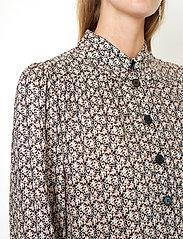 Second Female - Frank Shirt - långärmade skjortor - black - 4