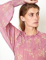 Second Female - Mories Blouse - långärmade blusar - lilas - 5