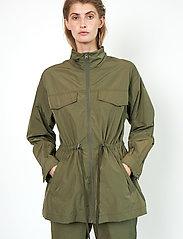 Second Female - Season New Jacket - parkasjackor - olive night - 5