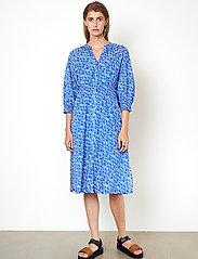 Second Female - Dayly Dress - sommarklänningar - deep ultramarine - 0