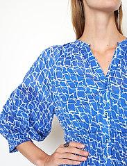 Second Female - Dayly Dress - sommarklänningar - deep ultramarine - 4