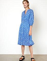 Second Female - Dayly Dress - sommarklänningar - deep ultramarine - 5