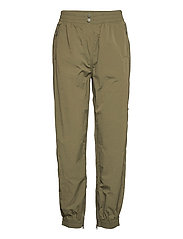Season New Track Trousers - OLIVE NIGHT