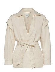 Selene New Jacket - WHITE SWAN