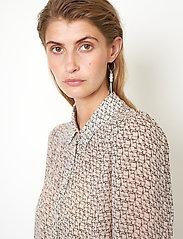 Second Female - Lacing Shirt - långärmade skjortor - cement - 3