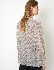 Second Female - Lacing Shirt - långärmade skjortor - cement - 5