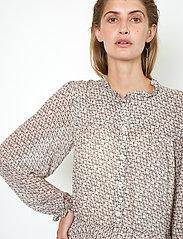 Second Female - Lacing Dress - vardagsklänningar - cement - 4