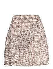 Lacing Skirt - CEMENT