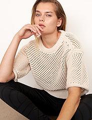 Second Female - Domino Knit - strikkede toppe - natural - 3