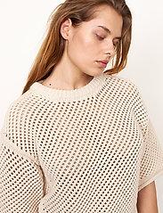 Second Female - Domino Knit - strikkede toppe - natural - 4