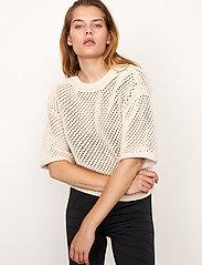 Second Female - Domino Knit - strikkede toppe - natural - 5