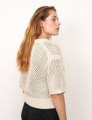 Second Female - Domino Knit - strikkede toppe - natural - 6